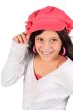 Muchacha bonita de ocho años Imágenes de archivo libres de regalías