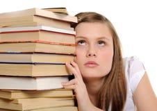 Estudiante bonito Imágenes de archivo libres de regalías