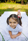 Muchacha bonita del lillte Fotografía de archivo libre de regalías