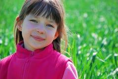 muchacha bonita en color de rosa/al aire libre Fotografía de archivo libre de regalías