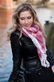Muchacha bonita rubia Fotografía de archivo libre de regalías