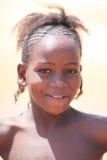 Muchacha cerca de Djenne, Malí Fotografía de archivo