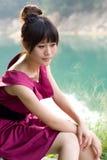 Muchacha china imagen de archivo libre de regalías