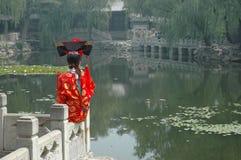 Muchacha china Imágenes de archivo libres de regalías
