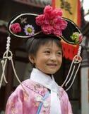 Muchacha china - Chengdu - China foto de archivo