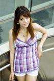 Muchacha china linda Foto de archivo libre de regalías
