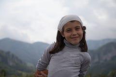 Muchacha con actitud foto de archivo libre de regalías