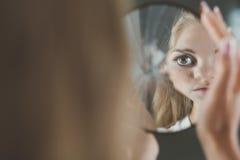Muchacha con la depresión Imagen de archivo