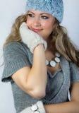 Muchacha con un pelo justo largo foto de archivo libre de regalías