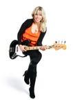 Muchacha con una guitarra Foto de archivo