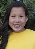 Muchacha con una sonrisa Imagen de archivo