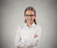 Muchacha confiada del adolescente Fotos de archivo libres de regalías
