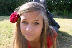 Muchacha criolla del adolescente Imagenes de archivo