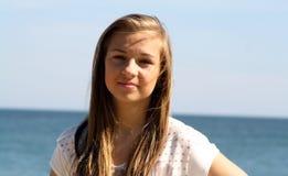 Muchacha criolla del adolescente Fotografía de archivo