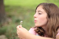 Muchacha criolla del adolescente Fotografía de archivo libre de regalías