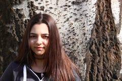 Muchacha criolla del adolescente Foto de archivo