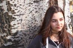 Muchacha criolla del adolescente Imágenes de archivo libres de regalías