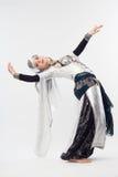 Muchacha dansing oriental Imágenes de archivo libres de regalías