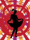 Muchacha de baile Fotografía de archivo