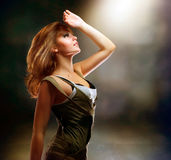 Muchacha de baile imagen de archivo libre de regalías
