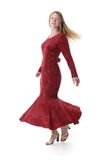 Muchacha de baile Imagenes de archivo