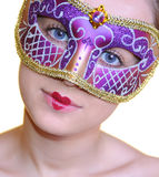 Muchacha de Carnaval foto de archivo libre de regalías