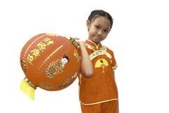 Muchacha de Chiness Imagenes de archivo