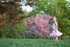 Muchacha de cuatro años Foto de archivo libre de regalías