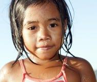 Muchacha de Filipinas imagenes de archivo