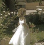 Muchacha de flor Fotografía de archivo