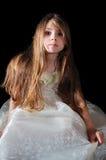 muchacha de flor Fotos de archivo