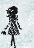 Muchacha de Glamor libre illustration