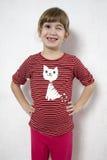 Muchacha de guiño joven divertida feliz. Fotos de archivo libres de regalías
