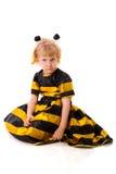 Muchacha de la abeja Imagenes de archivo