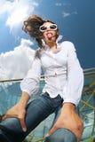 Muchacha de la diversión Foto de archivo libre de regalías