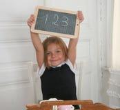 Muchacha de la escuela Fotografía de archivo libre de regalías