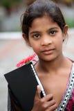 Muchacha de la escuela Foto de archivo libre de regalías