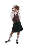 Muchacha de la escuela. Educación Fotos de archivo