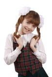 Muchacha de la escuela. Educación. Colegiala. Fotos de archivo
