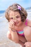 Muchacha de la estrella Fotografía de archivo libre de regalías