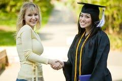 Muchacha de la graduación Foto de archivo