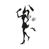 Muchacha de la hembra de la mujer Imagen de archivo libre de regalías