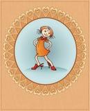 Muchacha de la manera Foto de archivo libre de regalías