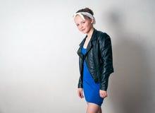 Muchacha de la moda de los jóvenes Foto de archivo
