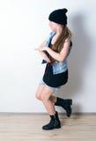 Muchacha de la moda de los jóvenes Imagen de archivo libre de regalías