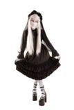 Muchacha de la muñeca de la viuda Fotografía de archivo