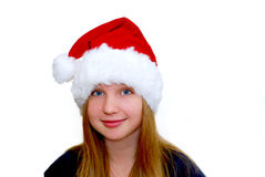 Muchacha de la Navidad Foto de archivo libre de regalías
