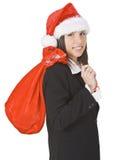 Muchacha de la Navidad Imagen de archivo libre de regalías