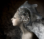 Muchacha de la sirena Imagen de archivo libre de regalías