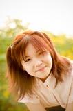 Muchacha de la sonrisa Fotografía de archivo libre de regalías